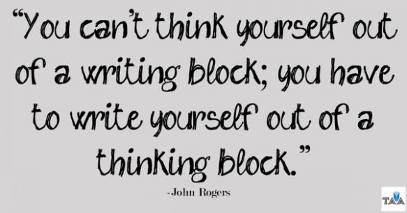 writing block